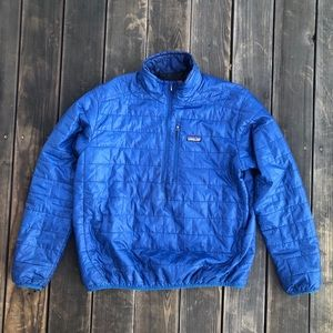 Patagonia Nano Puff Pullover in Navy